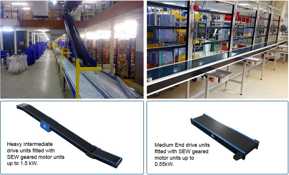 Heavy Duty Belt Conveyors