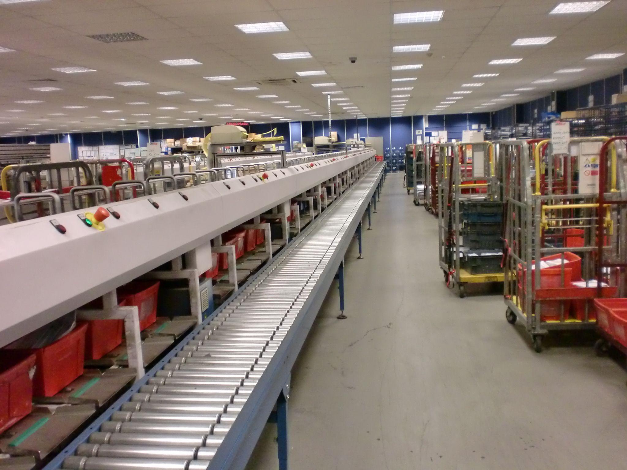parcel conveyors